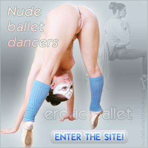 naked nude ballet dancer ballerina