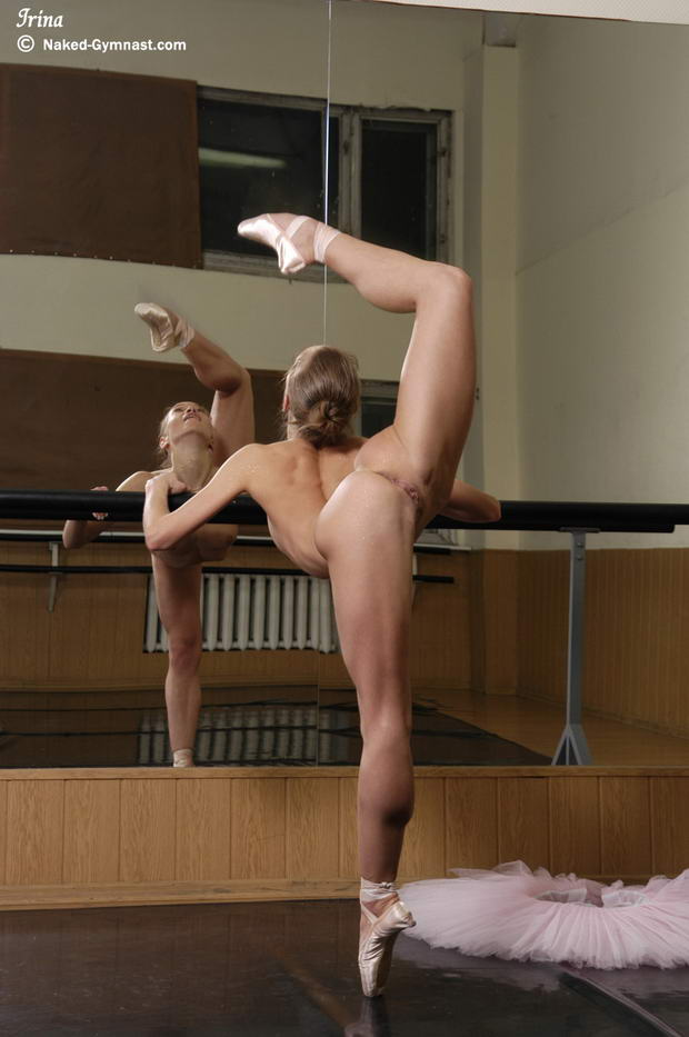 russian flexible gilrs in spandex